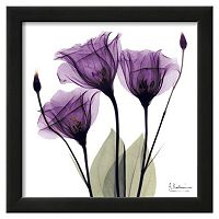 Art.com Royal Purple Gentian Trio Framed Wall Art