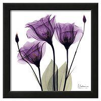 Art.com Royal Purple Gentian Trio Framed Wall Art