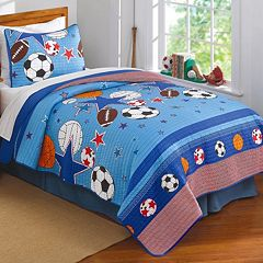 Sports and Stars Quilt Set