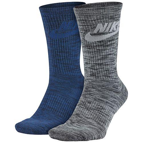 Men's Nike 2-pack Knit-In Crew Socks