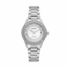 Drive from Citizen Eco-Drive Women's Crystal Stainless Steel Watch - FE6060-51A