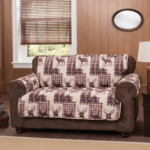 Innovative Textile Solutions Woodlands Loveseat Protector