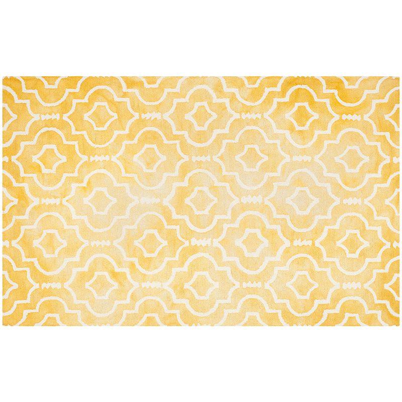 Safavieh Jefferson Quatrefoil Dip-Dyed Wool Rug, 8X10 Ft Product Image