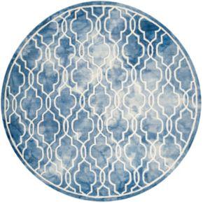 Safavieh Crosby Framed Quatrefoil Dip-Dyed Wool Rug