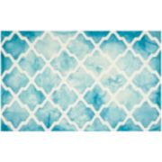 Safavieh Morrison Lattice Dip-Dyed Wool Rug