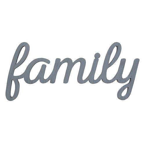 "Stratton Home Decor ""Family"" Wall Art"