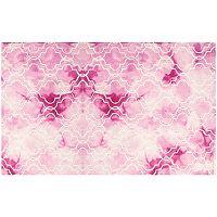 Safavieh Jasmine Quatrefoil Dip-Dyed Wool Rug