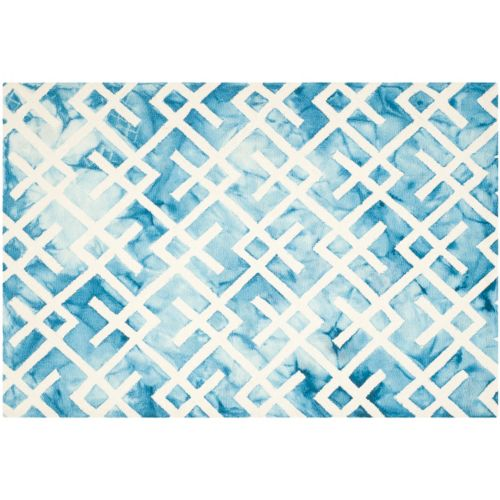 Safavieh Chaz Lattice Dip-Dyed Wool Rug