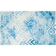 Safavieh Hardin Geometric Dip-Dyed Wool Rug