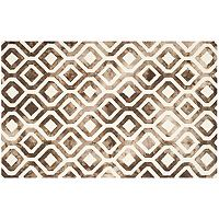 Safavieh Arlo Lattice Dip-Dyed Wool Rug