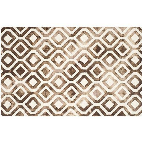 Safavieh Arlo Lattice Dip-Dyed Wool Rug
