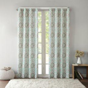 Intelligent Design Rimini Cotton Medallion Printed Window Curtain
