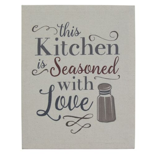 Stratton Home Decor This Kitchen Is Seasoned With Love Wood Wall Art