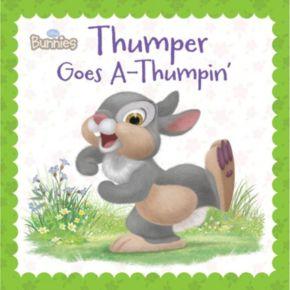 Disney's Bunnies Thumper Goes A-Thumpin' Book