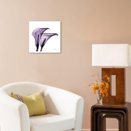 Art.com Violet Calla Twins II Wall Art Print