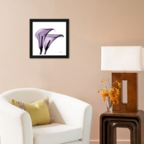 Art.com Violet Calla Twins II Framed Wall Art