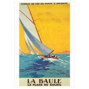Art.com La Baule Wall Art Print