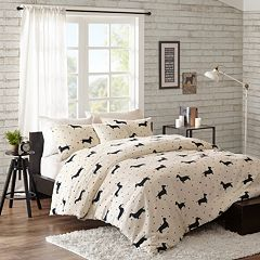 HipStyle Hannah 4-piece Duvet Cover Set