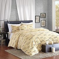 HipStyle Liv 4 pc Duvet Cover Set
