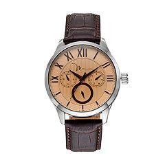 Marc Anthony Men's Smooth Sophistication Leather Watch