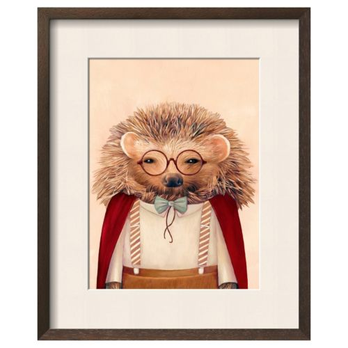 "Art.com ""Hedgehog"" Framed Wall Art"