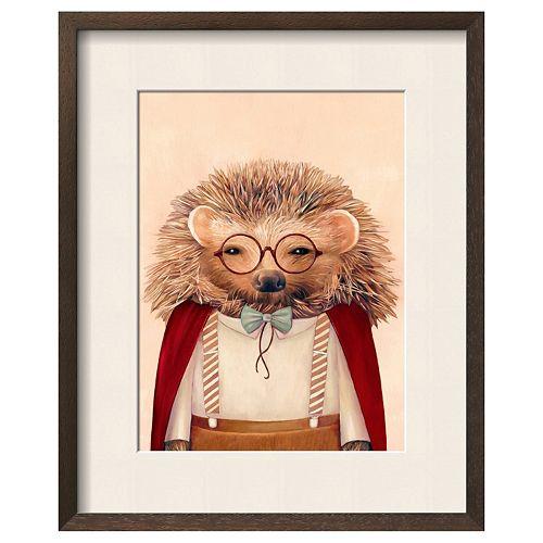 "Art.com ""Hedgehog"" Framed Wall Art"