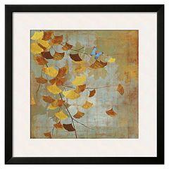 Art.com 'Ginkgo Branch I' Framed Wall Art