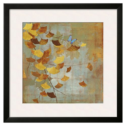 "Art.com ""Ginkgo Branch I"" Framed Wall Art"
