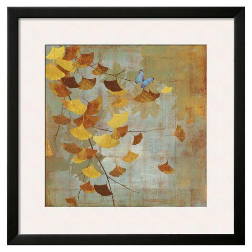 """Art.com """"Ginkgo Branch I"""" Framed Wall Art"""