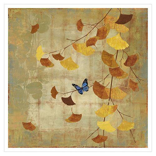 Art.com Ginkgo Branch II Wall Art Print