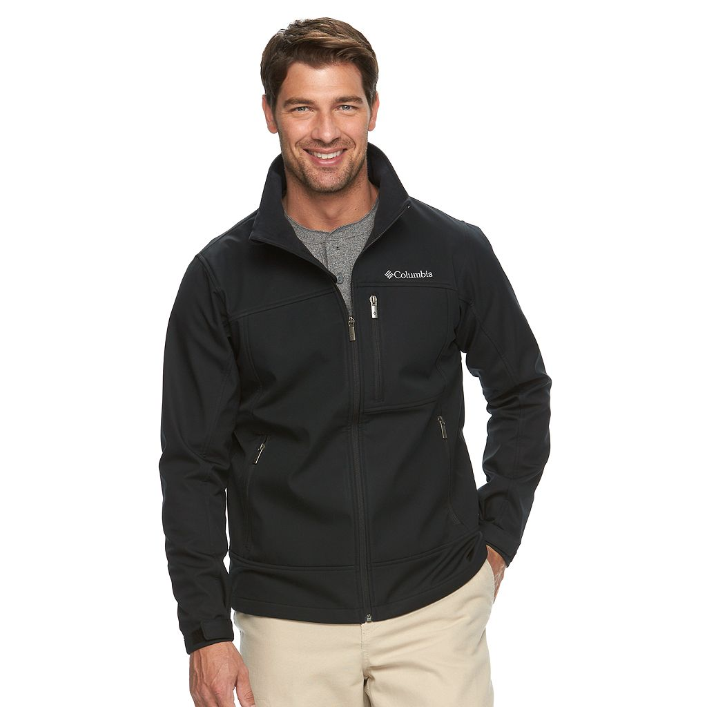 Men's Columbia Smooth Spiral Softshell Jacket