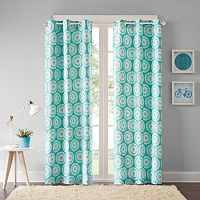 Intelligent Design 2-pack Valia Medallion Curtains
