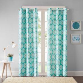 Intelligent Design 2-pack Valia Medallion Window Curtains