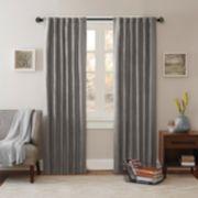 Madison Park Reiss Stud Trim Microsuede Window Curtain