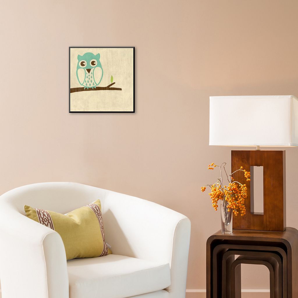 Art.com Best Friends Owl Wood Wall Art