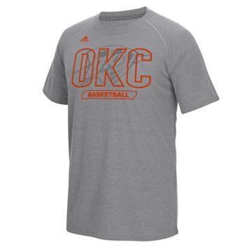 Men's adidas Oklahoma City Thunder Long Shot climalite Tee