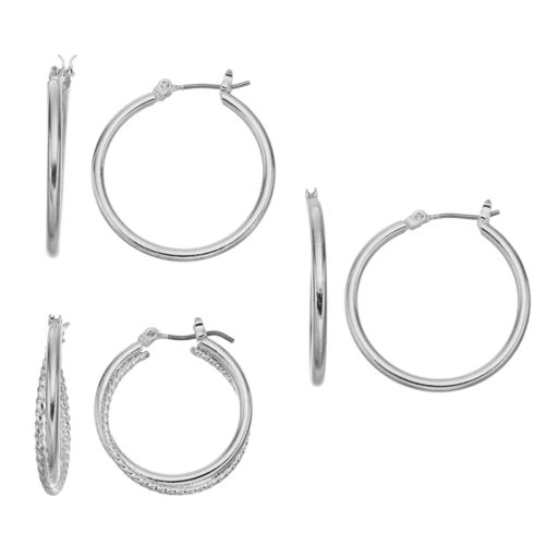 Hoop Earring Set