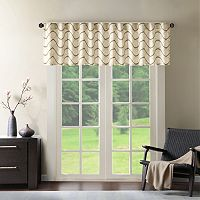 Madison Park Serendipity Embroidery Taffeta Window Valance - 50'' x 18''