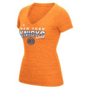 Women's adidas New York Knicks Horizon Lines Tee