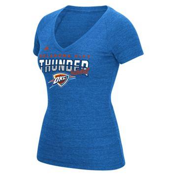 Women's adidas Oklahoma City Thunder Horizon Lines Tee