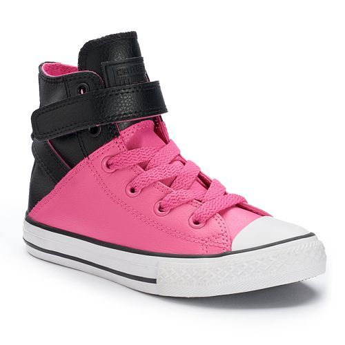 10a47a69feab Kid s Converse Chuck Taylor All Star Brea Leather High-Top Sneakers