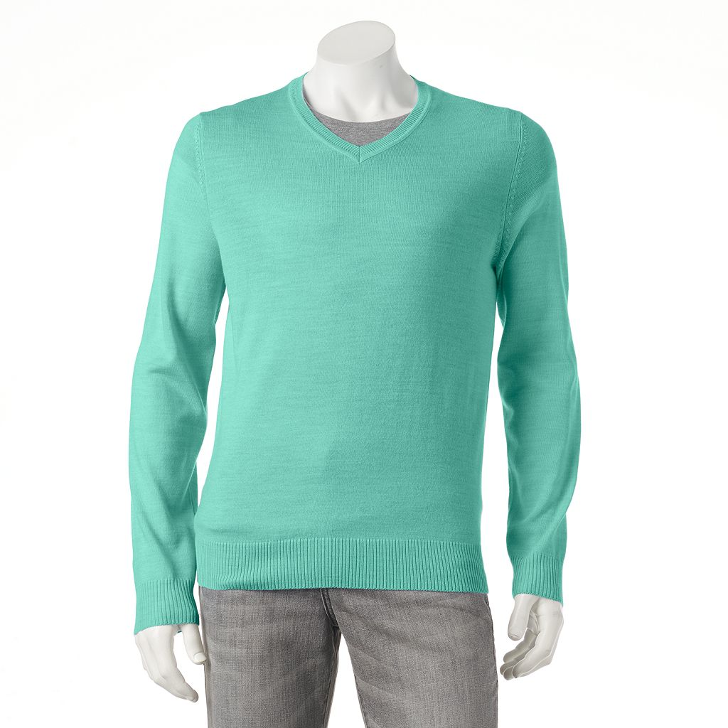 Men's Apt. 9® Modern-Fit Merino V-Neck Sweater