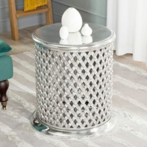Safavieh Metal Lace End Table