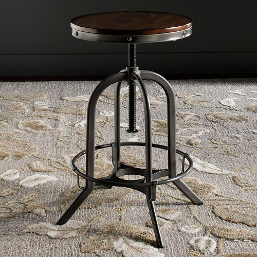 Safavieh Wildomar Adjustable Swivel Bar Stool