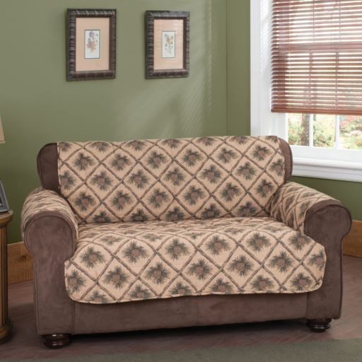 Innovative Textile Solutions Pine Cones Sofa Protector