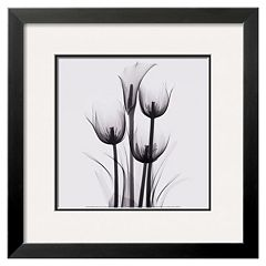 Art.com 'Tulips and Arum Lily' Framed Wall Art