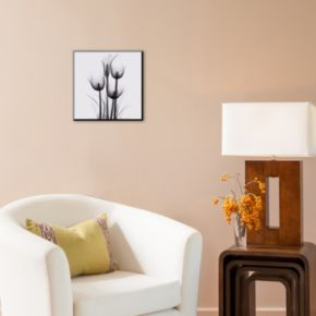 Art.com Tulips and Arum Lily Wood Wall Art