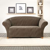 Sure Fit Stretch Space Dye Loveseat Slipcover