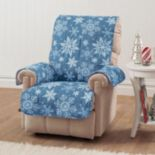 Innovative Textile Solutions Snowflake Recliner Wing Chair Protector