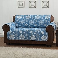 Innovative Textile Solutions Snowflake Sofa Protector